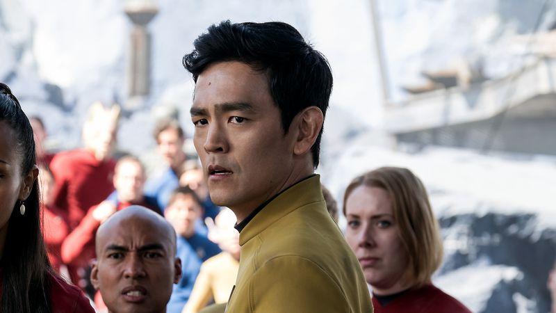 John Cho as Hikaru Sulu in Star Trek Beyond (Image: Paramount)